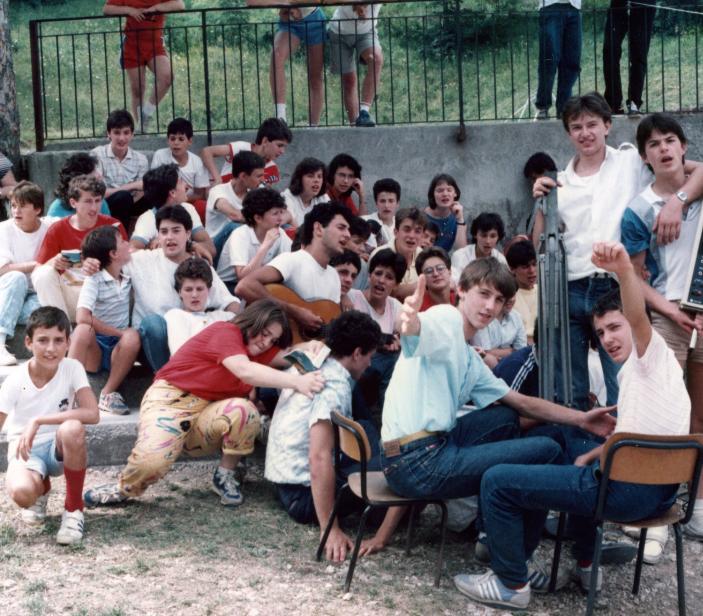 campi Scuola anni 80