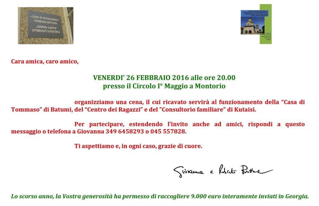 La Casa di Tommaso - Cena 2016 @ Verona | Montorio | Veneto | Italia