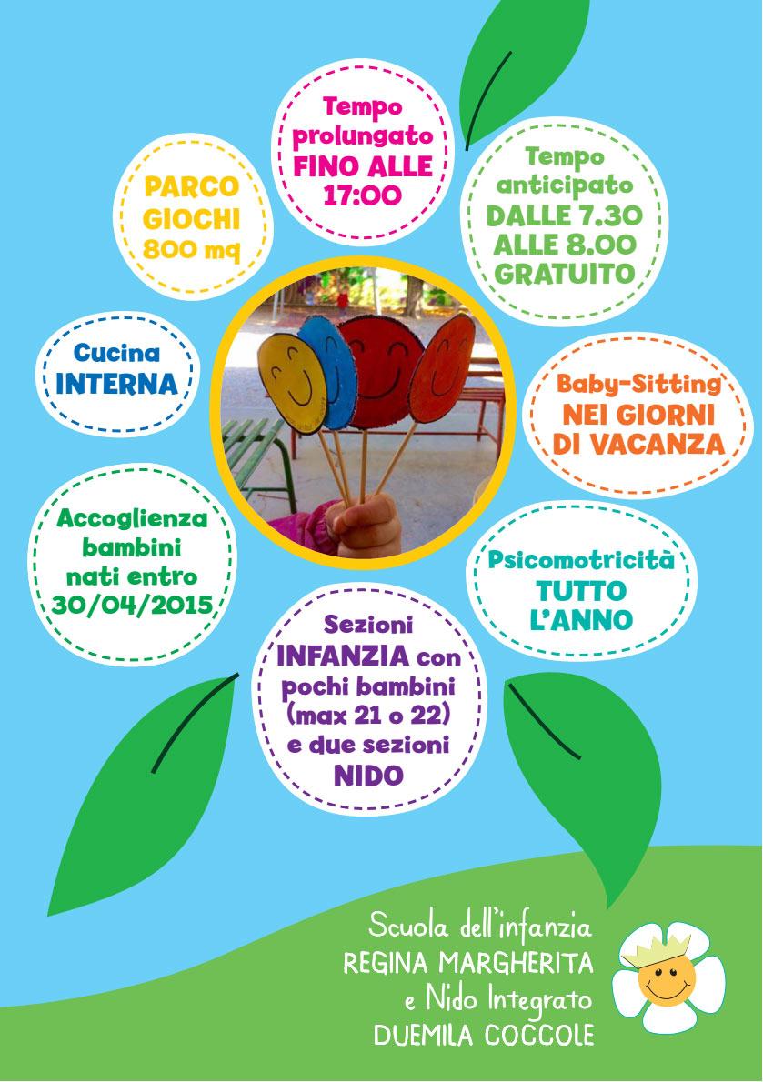 Scuola Regina Margherita - Open Day e iscrizioni @ Scuola Regina Margherita | Montorio | Veneto | Italia