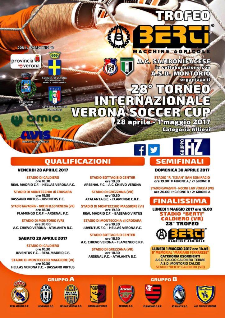 Qualificazioni 28° Torneo Internazionale Verona Soccer Cup @ Campo sportivo Montorio Veronese | Montorio | Veneto | Italia