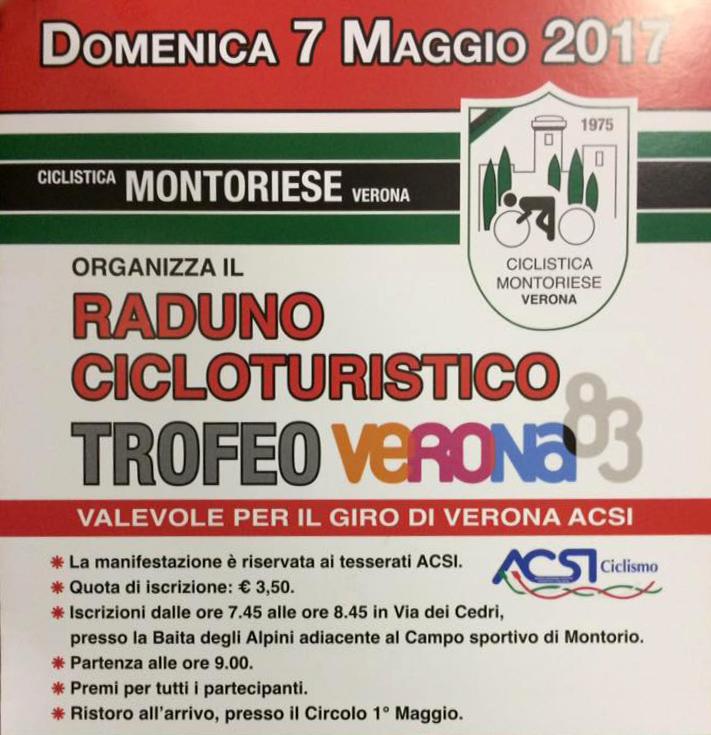 Cicloraduno A.S.D. Ciclistica Montoriese @ Partenza da Baita Alpini Montorio | Montorio | Veneto | Italia