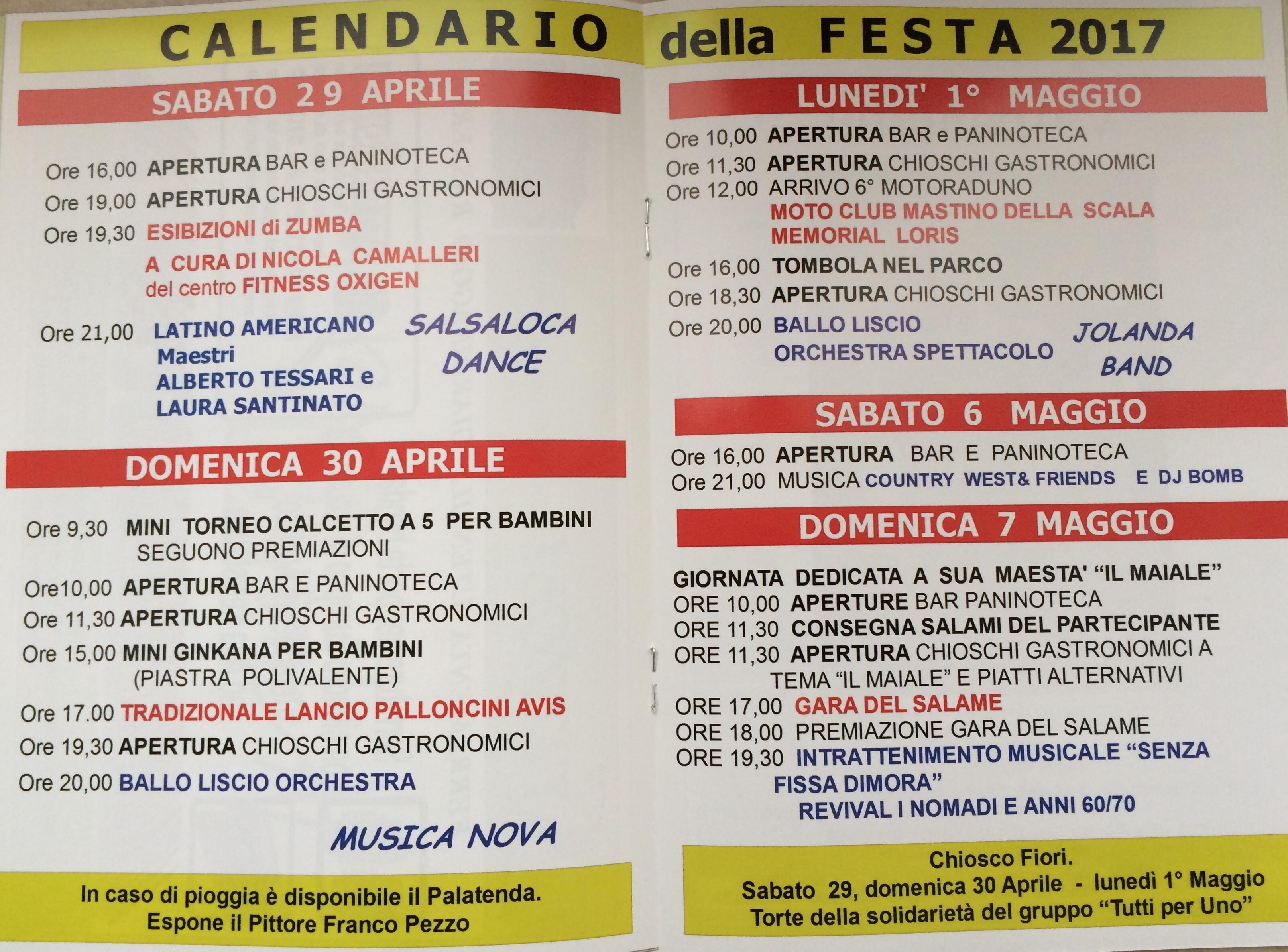 Festa del 1° Maggio al Circolo @ Circolo I° Maggio | Montorio | Veneto | Italia