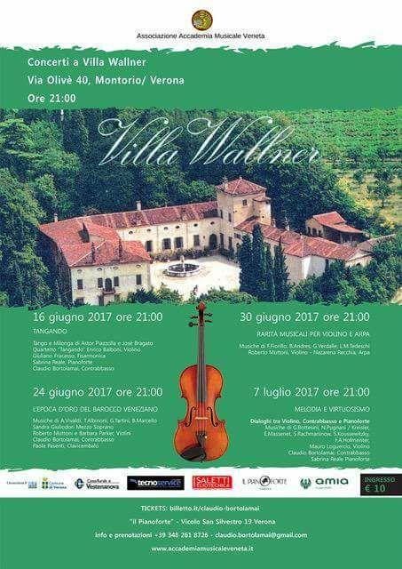 Concerti a Villa Wallner @ Villa Wallner - Montorio Veronese | Veneto | Italia