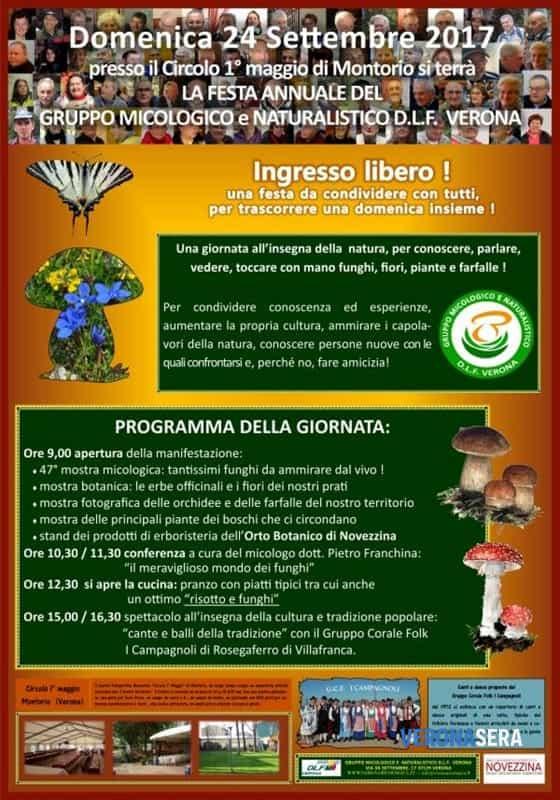Festa annuale del gruppo micologico e naturalistico @ Circolo I° Maggio | Montorio | Veneto | Italia