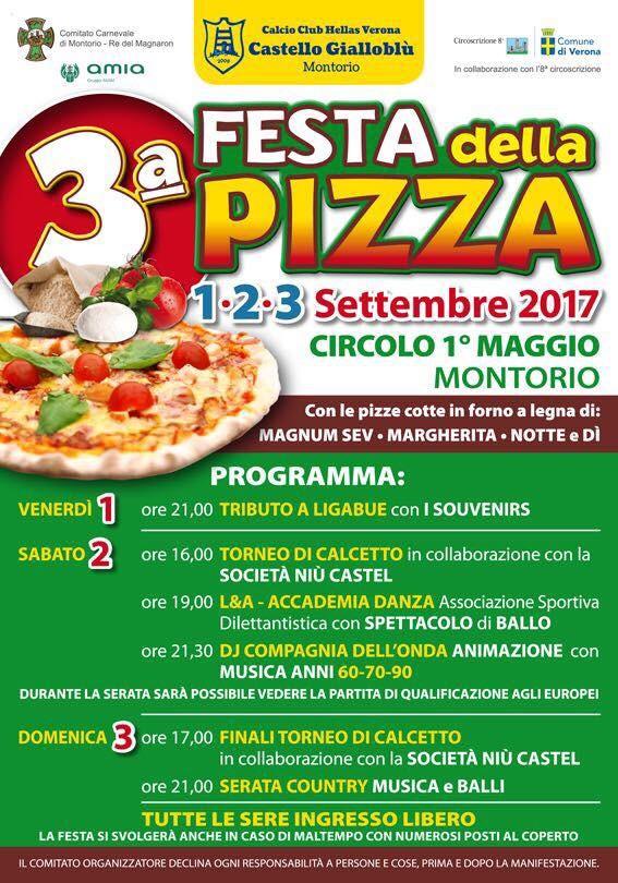 Festa della pizza 2017 @ Circolo I° Maggio | Montorio | Veneto | Italia