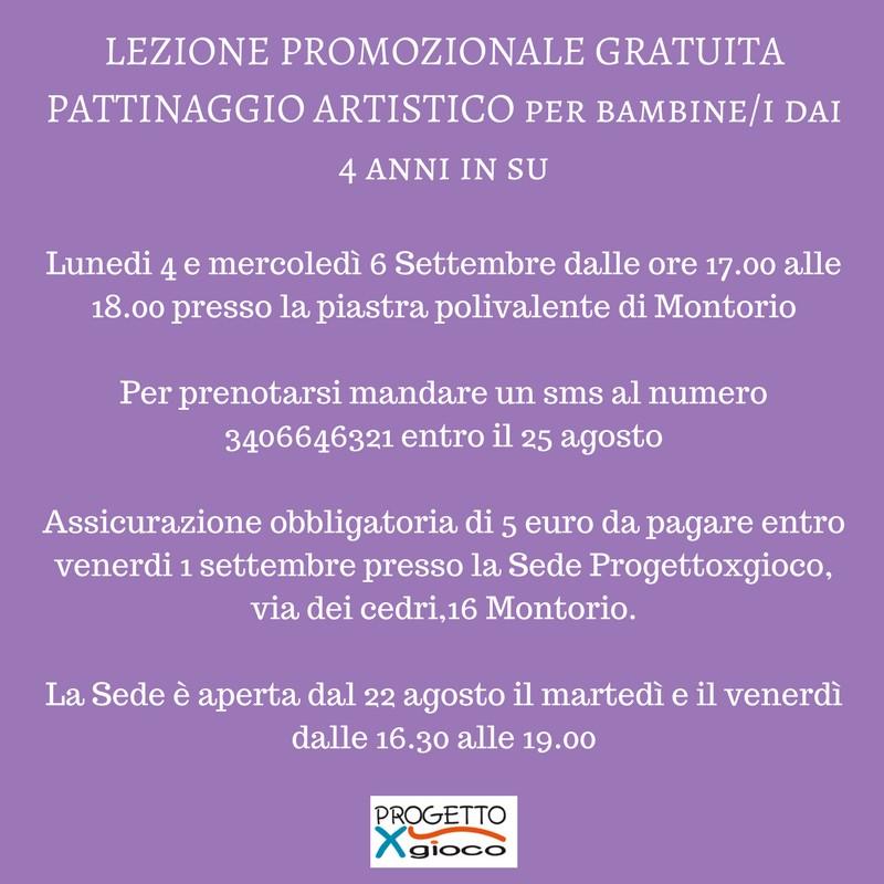 Pattinaggio artistico - Progetto x gioco @ Piastra polivalente | Montorio | Veneto | Italia