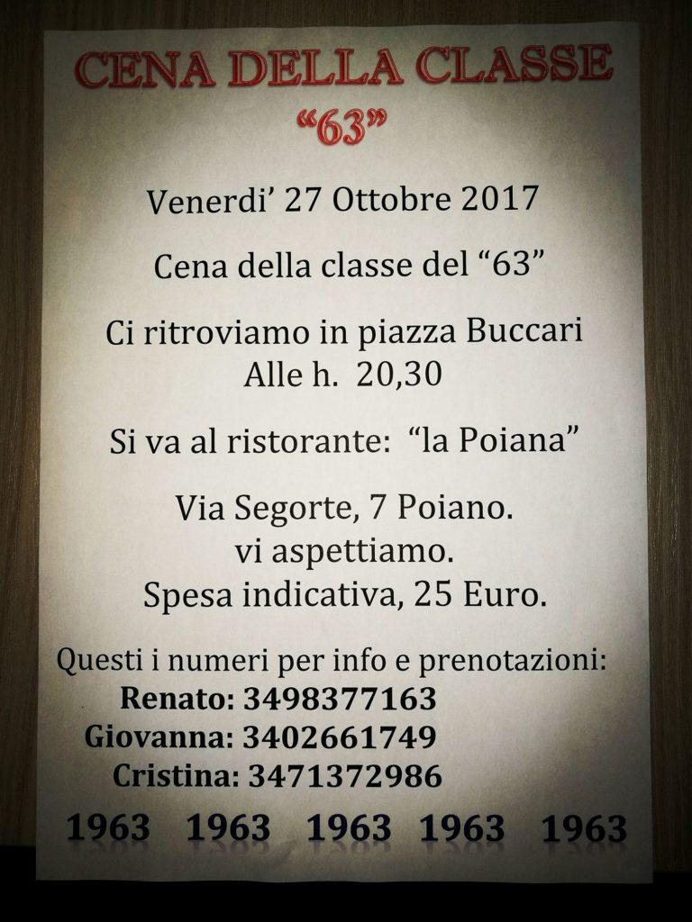 Cena classe 63 @ Montorio Veronese | Montorio | Veneto | Italia