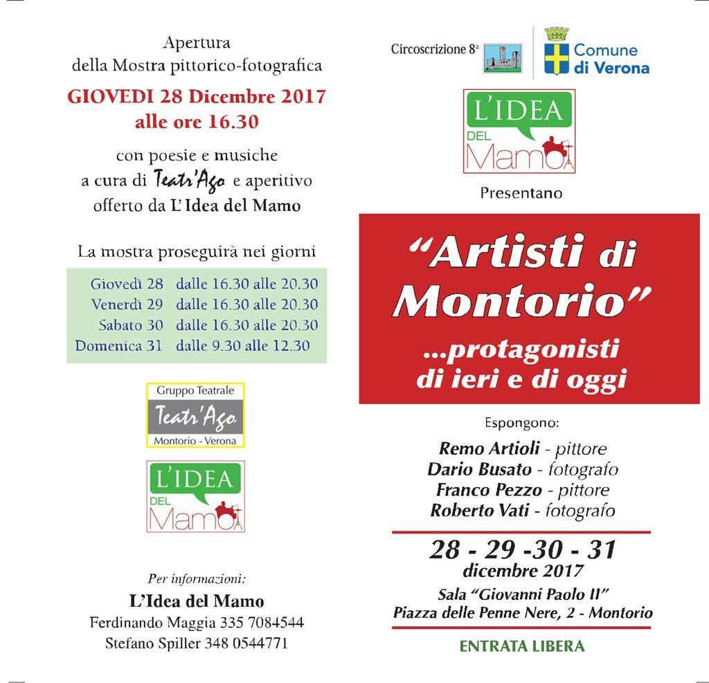 Artisti di Montorio @ Sala Giovanni Paolo II - Montorio | Montorio | Veneto | Italia
