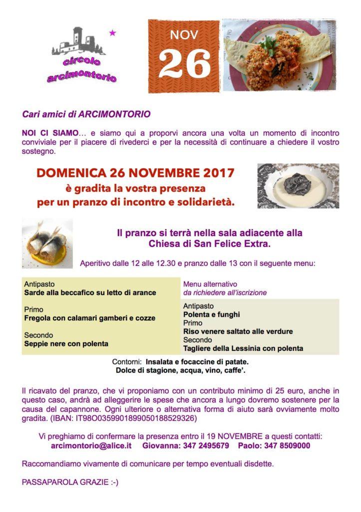 Pranzo Circolo Arcimontorio @ San Felice Extra | San Felice | Veneto | Italia