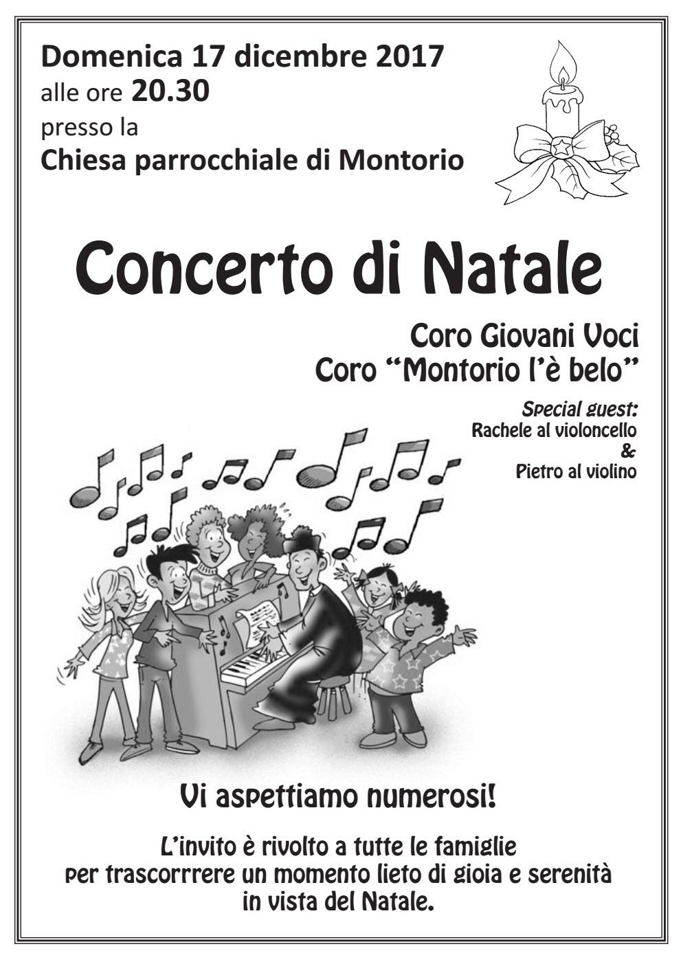 Concerto di Natale - Chiesa Parrocchiale di Montorio @ Chiesa di Montorio Veronese | Montorio | Veneto | Italia