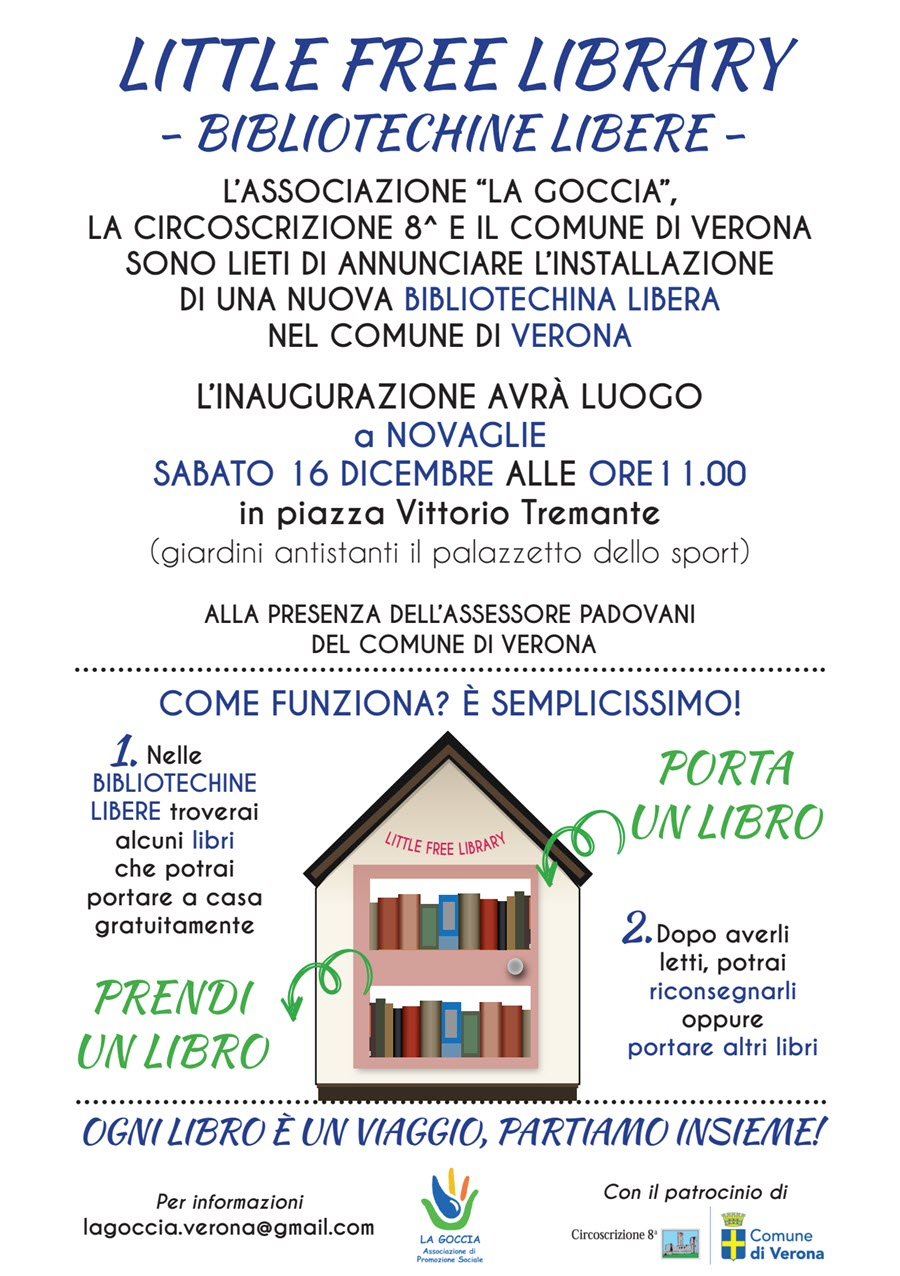Inaugurazione Little Free Library a Novaglie @ Novaglie | Novaglie | Veneto | Italia