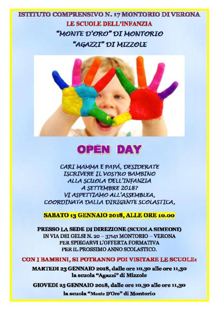 Open day scuola Simeoni - Presentazione scuola @ Aula magna scuola Simeoni | Montorio | Veneto | Italia