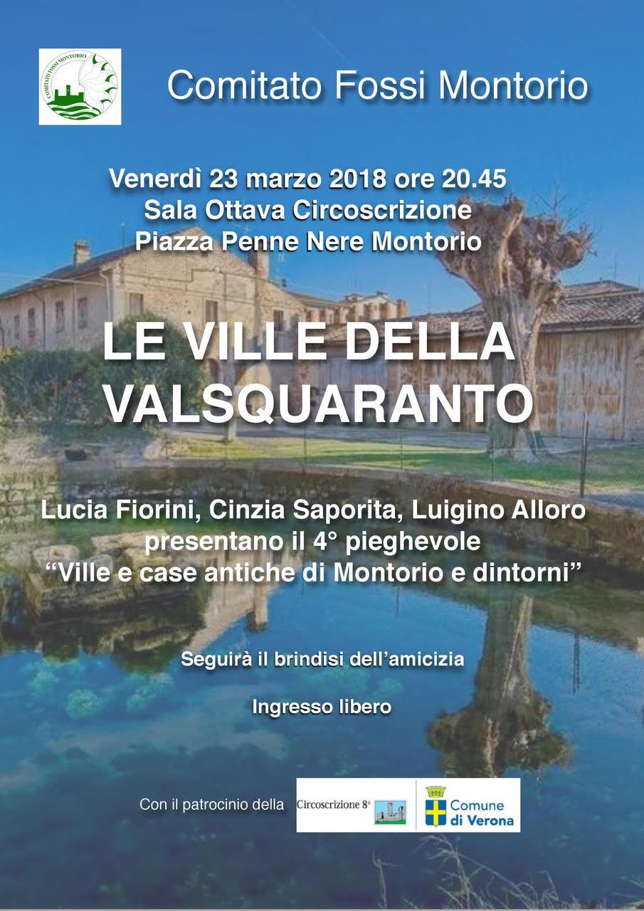 Le Ville della Valsquaranto 4° pieghevole @ Sala Giovanni Paolo II - Montorio | Montorio | Veneto | Italia