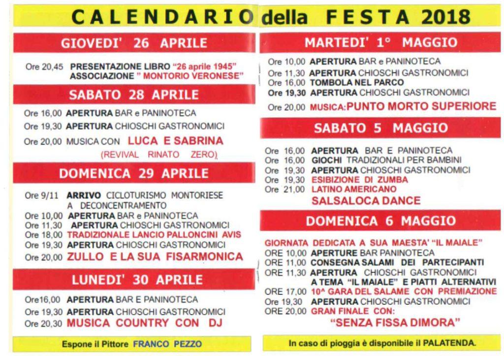 Festa del 1^ Maggio al Circolo @ Circolo I° Maggio | Montorio | Veneto | Italia