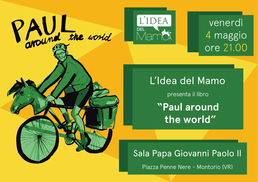 Paul around the world - Presentazione libro @ Sala Giovanni Paolo II - Montorio | Montorio | Veneto | Italia