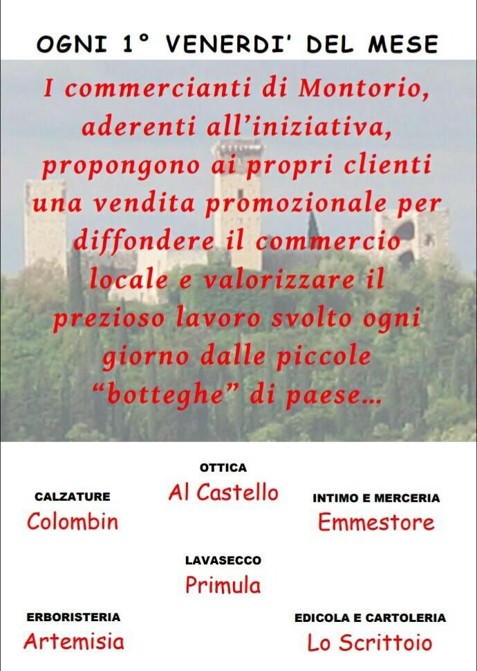 Le piccole botteghe - Vendita promozionale @ Montorio Veronese