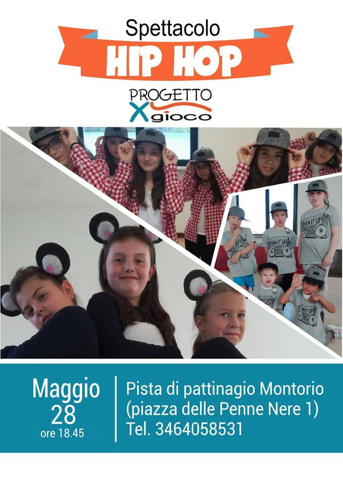 Spettacolo HIP HOP - ProgettoXGioco @ Piastra polivalente Montorio | Montorio | Veneto | Italia