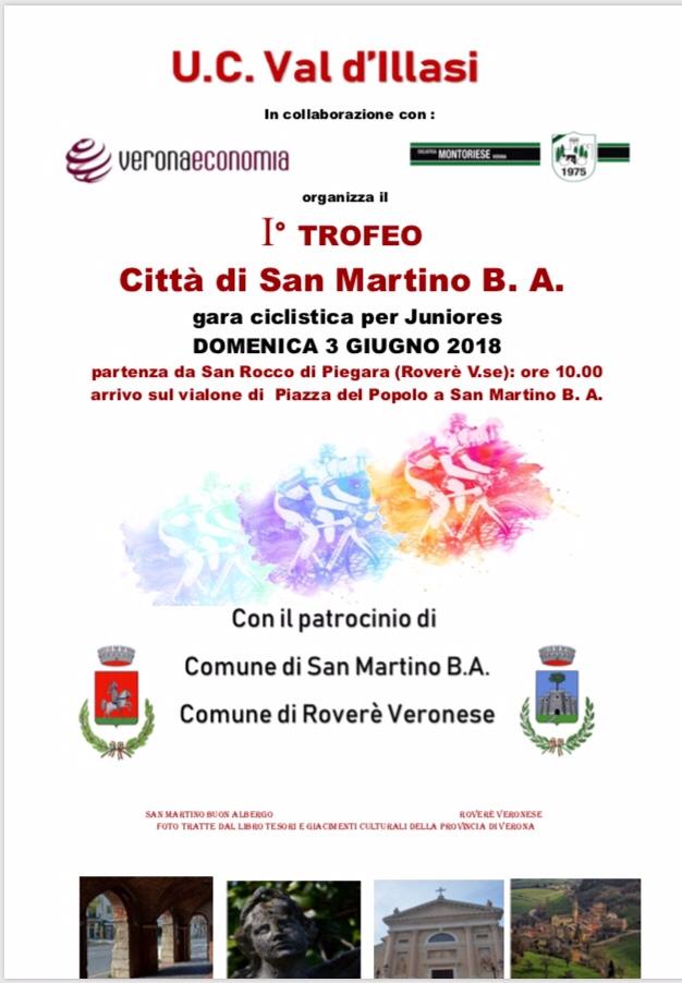 Primo trofeo città di San Martino in collaborazione con U.C. Montoriese