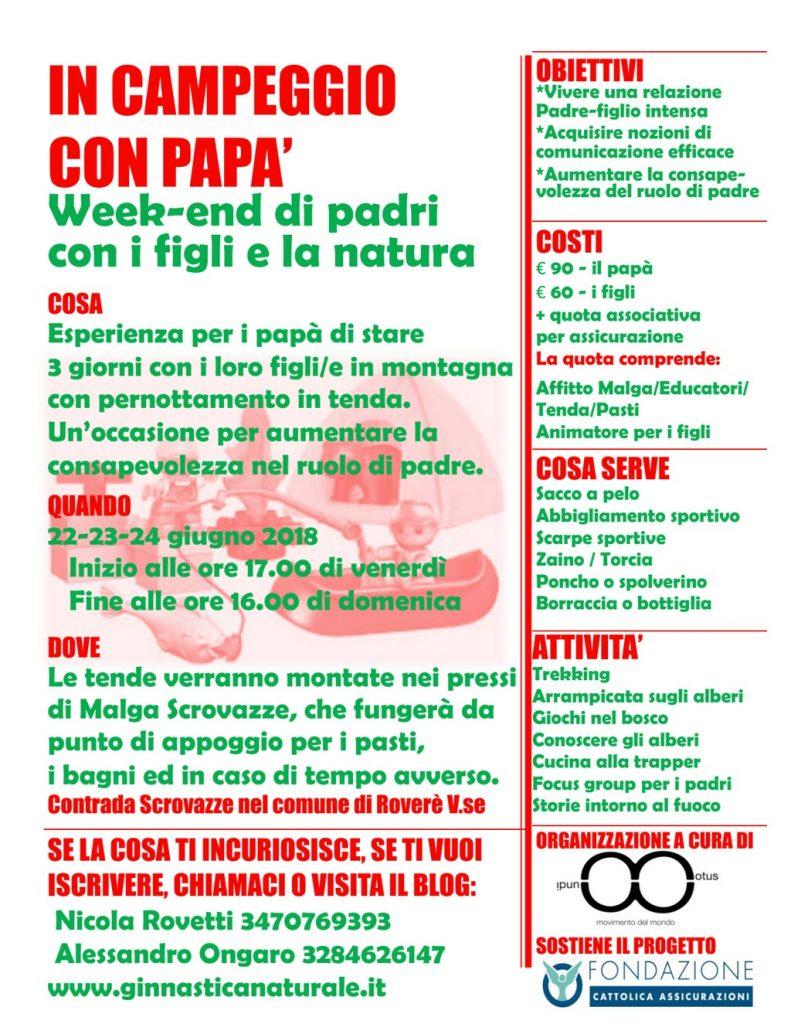 In campeggio con papà @ Malga Scrovazze - Lessinia | Roverè Veronese | Veneto | Italia