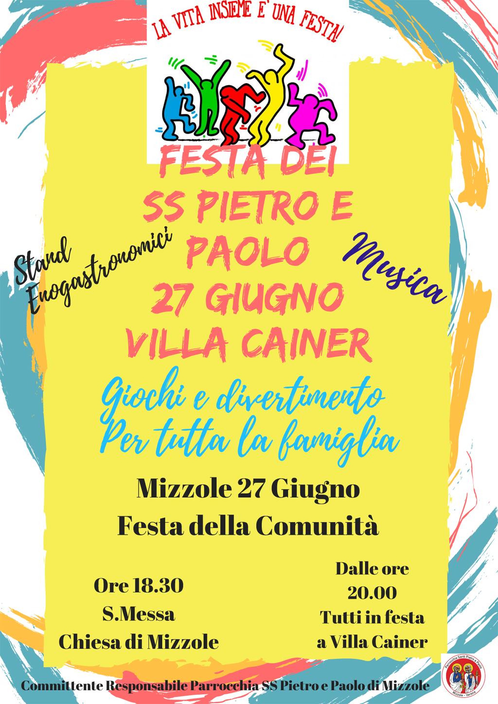 Festa della Comunità di Mizzole @ Mizzole - Villa Cainer | Veneto | Italia