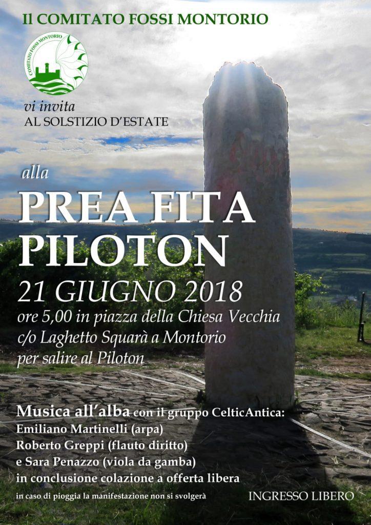 Solstizio d'estate 2018 @ Piloton - Partenza da Pieve di Santa Maria Assunta | Montorio | Veneto | Italia