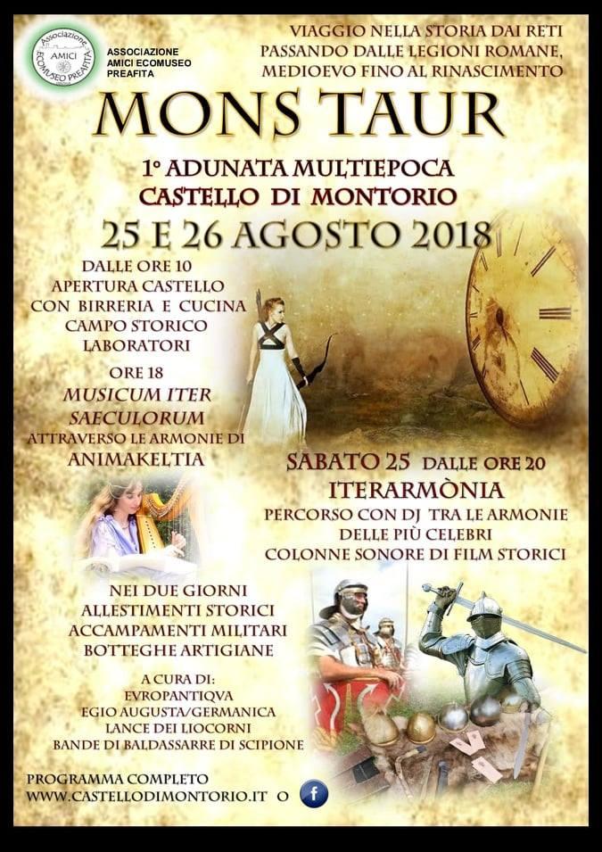 Mons Taur - Un Viaggio nella Storia @ Castello di Montorio | Verona | Veneto | Italia