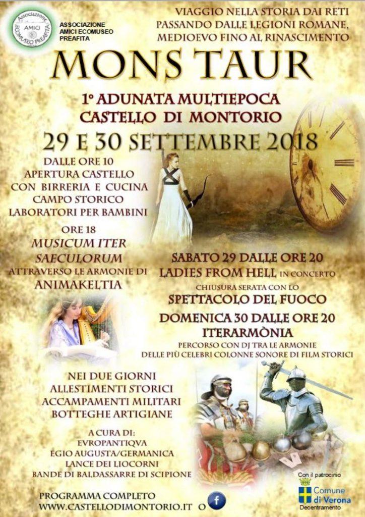 Mons Taur al Castello di Montorio @ Castello di Montorio | Veneto | Italia