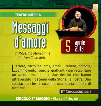 Teatro nei Quartieri ... a Montorio @ Circolo I° Maggio | Montorio | Veneto | Italia