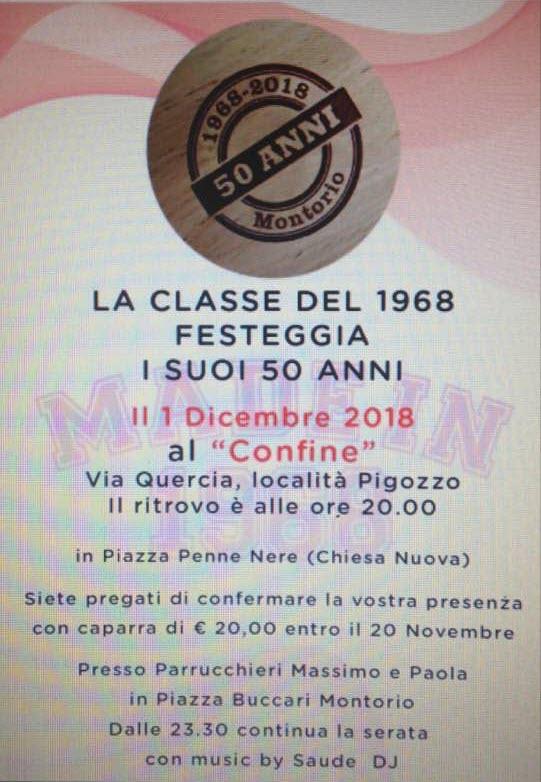Made in 1968 - 50 anni @ Locanda al Confin Osteria le Piere   Verona   Veneto   Italia