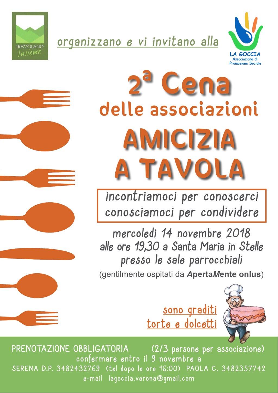 Cena delle associazioni di Valsquaranto e Valpantena @ Santa Maria in Stelle | Santa Maria In Stelle | Veneto | Italia