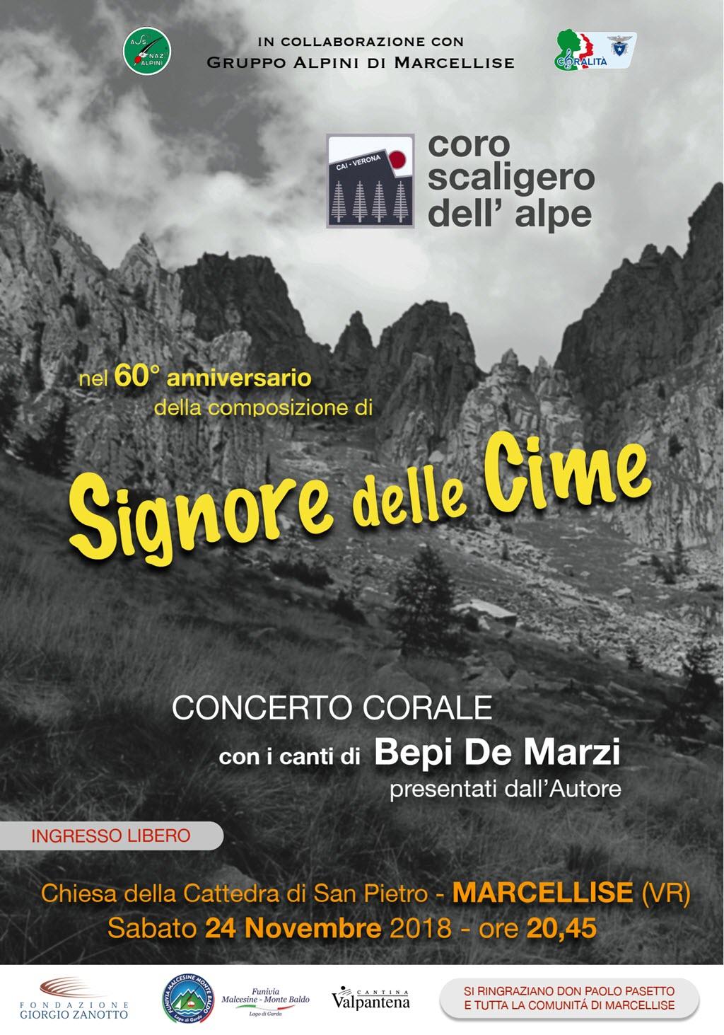 Coro Scaligero dell'Alpe. Signore delle cime @ Chiesa di Marcellise | Marcellise | Veneto | Italia