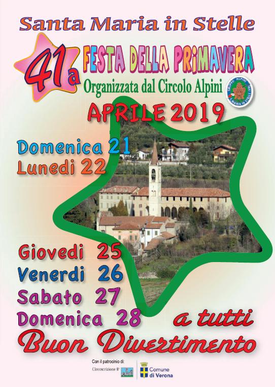 Festa della Primavera 2019 @ Santa Maria in Stelle | Santa Maria In Stelle | Veneto | Italia