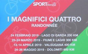 I Magnifici Quattro - Randonnée 2019 @ Montorio Villa Guerrina | Veneto | Italia