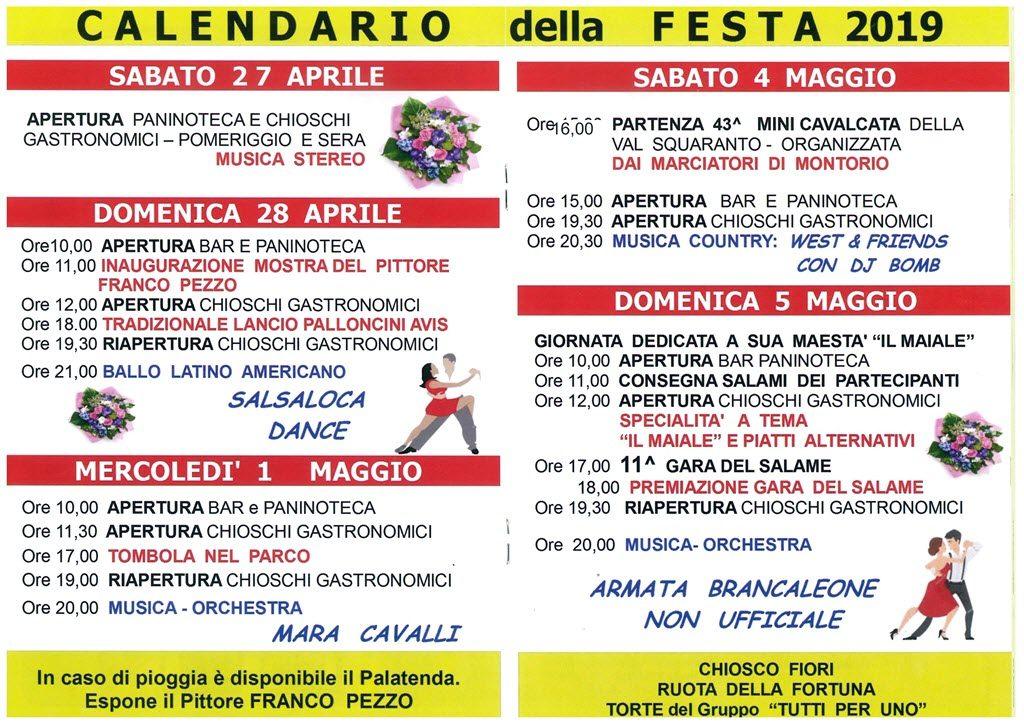 Festa del 1^ Maggio al Circolo @ Circolo primo Maggio | Montorio | Veneto | Italia