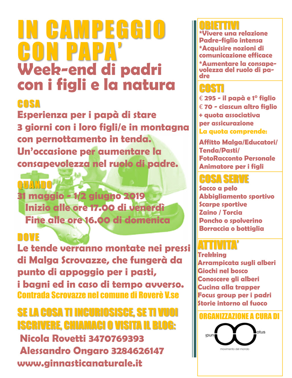 In campeggio con papà @ Malga Scrovazze | Squarantello | Veneto | Italia