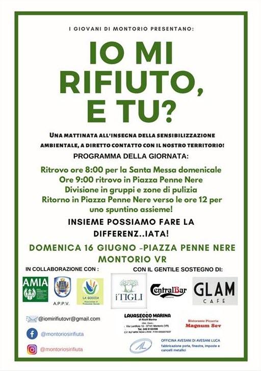 Io mi rifiuto e tu? @ Piazza delle Penne Nere | Montorio | Veneto | Italia