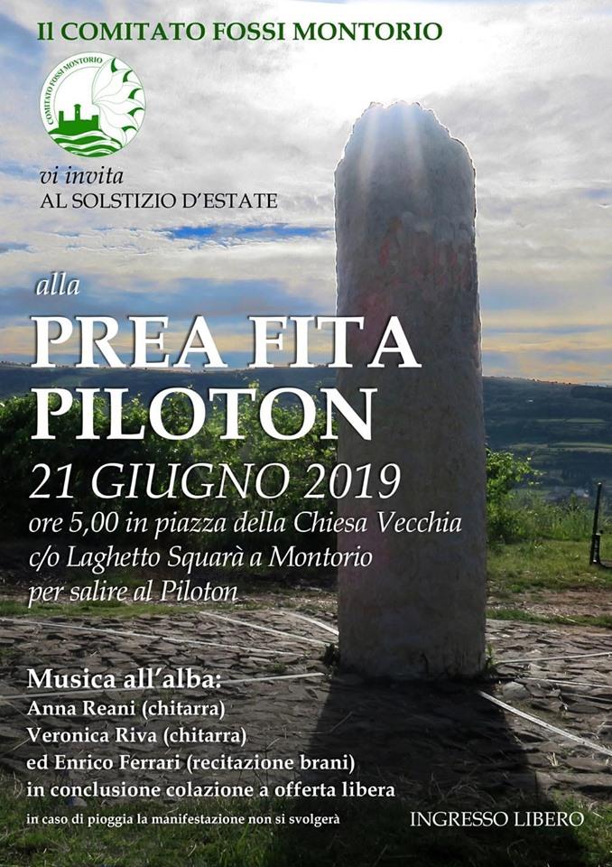Solstizio d'estate al Piloton 2019 @ dorsale Preafita | Montorio | Veneto | Italia