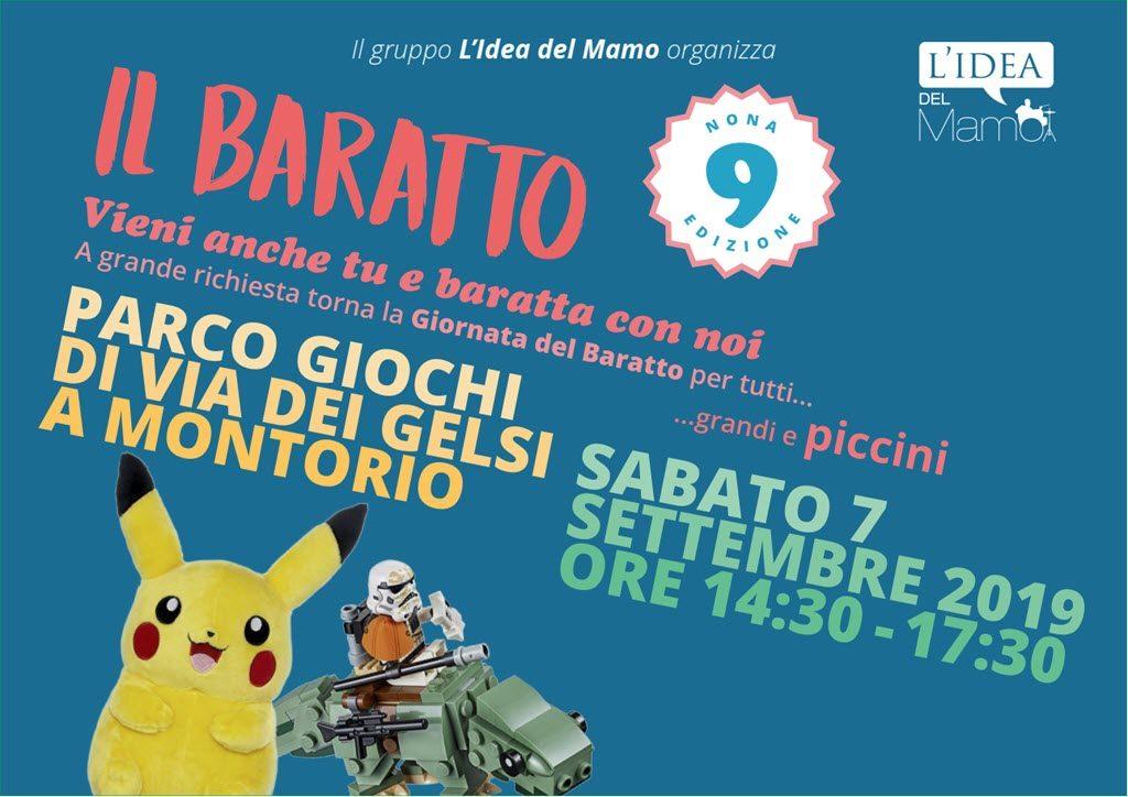 Baratto a Montorio con L'Idea del Mamo @ Parco giochi Montorio   Verona   Veneto   Italia