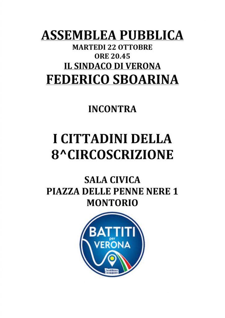 Assemblea pubblica con il sindaco @ Sala Giovanni Paolo II | Verona | Veneto | Italia