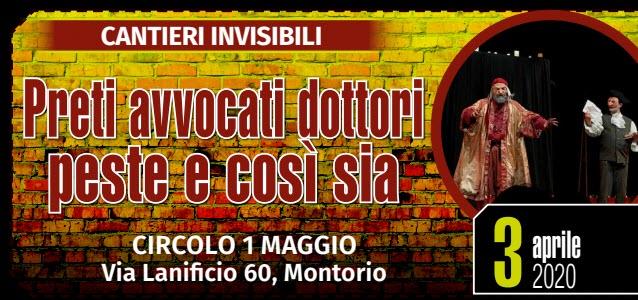 Preti avvocati dottori peste e così sia @ Circolo I Maggio | Montorio | Veneto | Italia