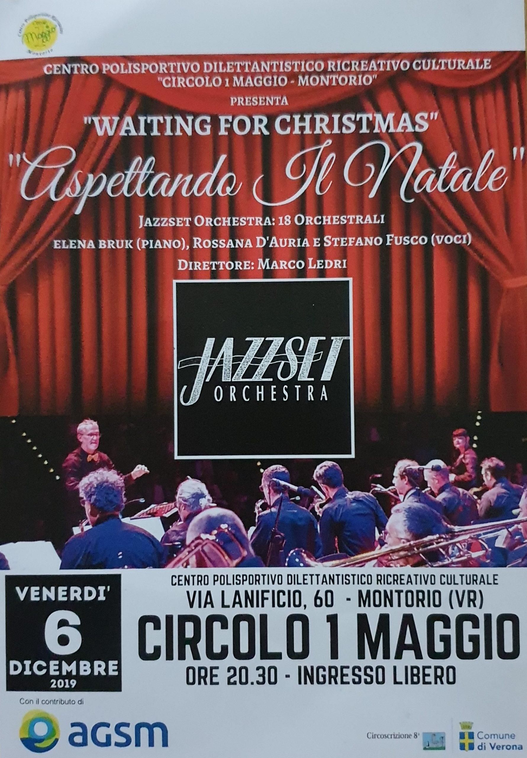 Jazz Set Orchestra al Circolo 1° Maggio @ Circolo I Maggio | Montorio | Veneto | Italia