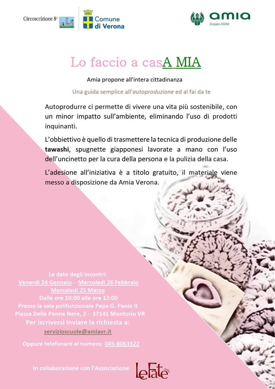 Lo faccio a casA MIA @ Sala Giovanni Paolo II | Montorio | Veneto | Italia