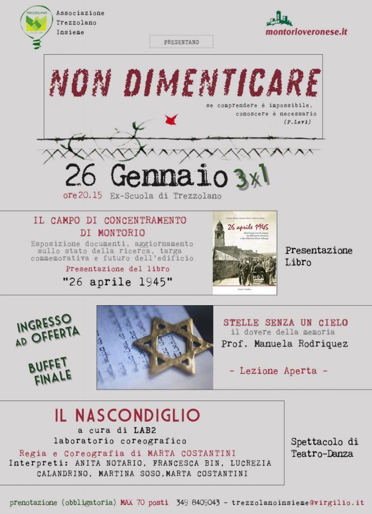 Non  dimenticare - Trezzolano Insieme @ Trezzolano | Trezzolano | Veneto | Italia